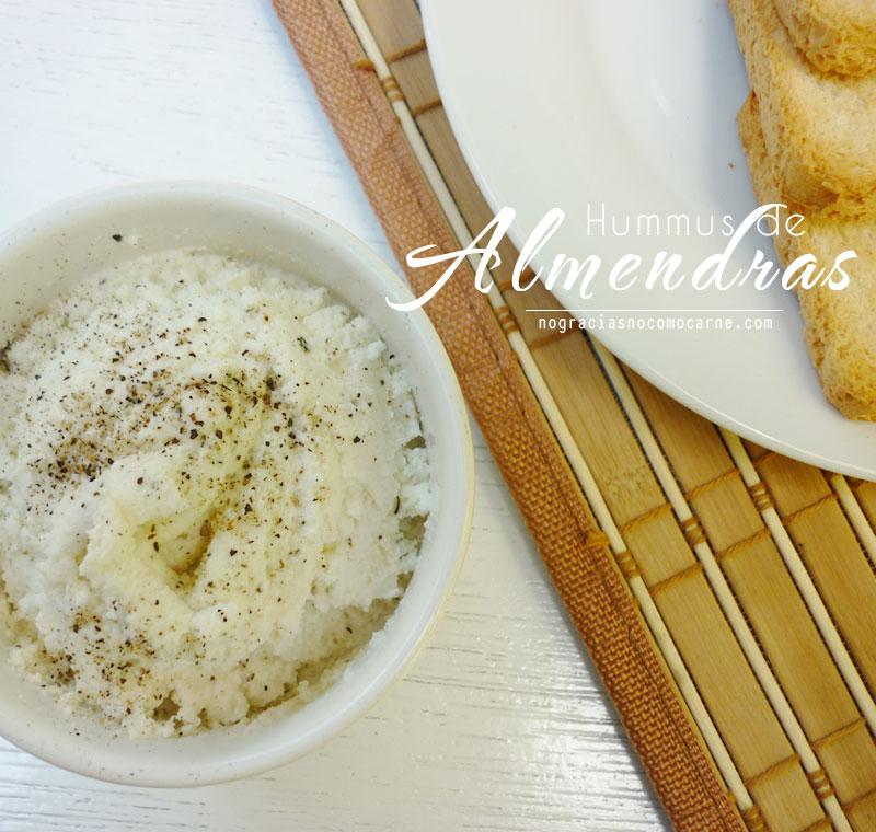 Hummus de almendras