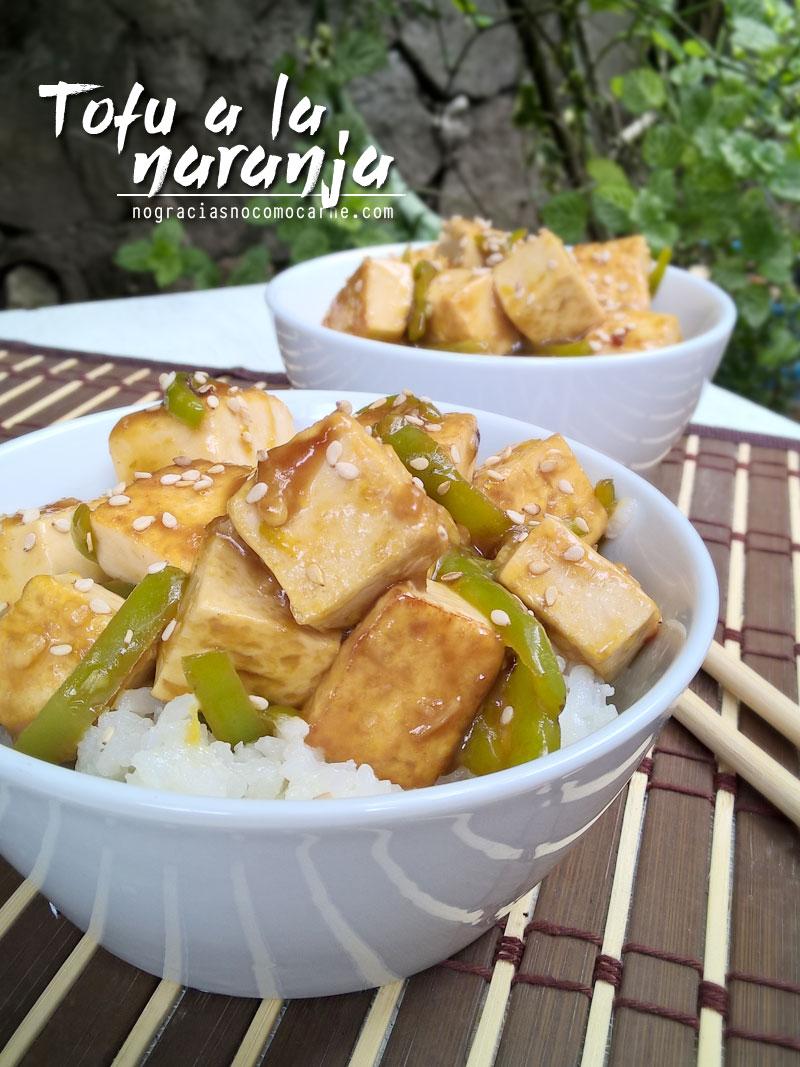 Como preparar tofu a la naranja