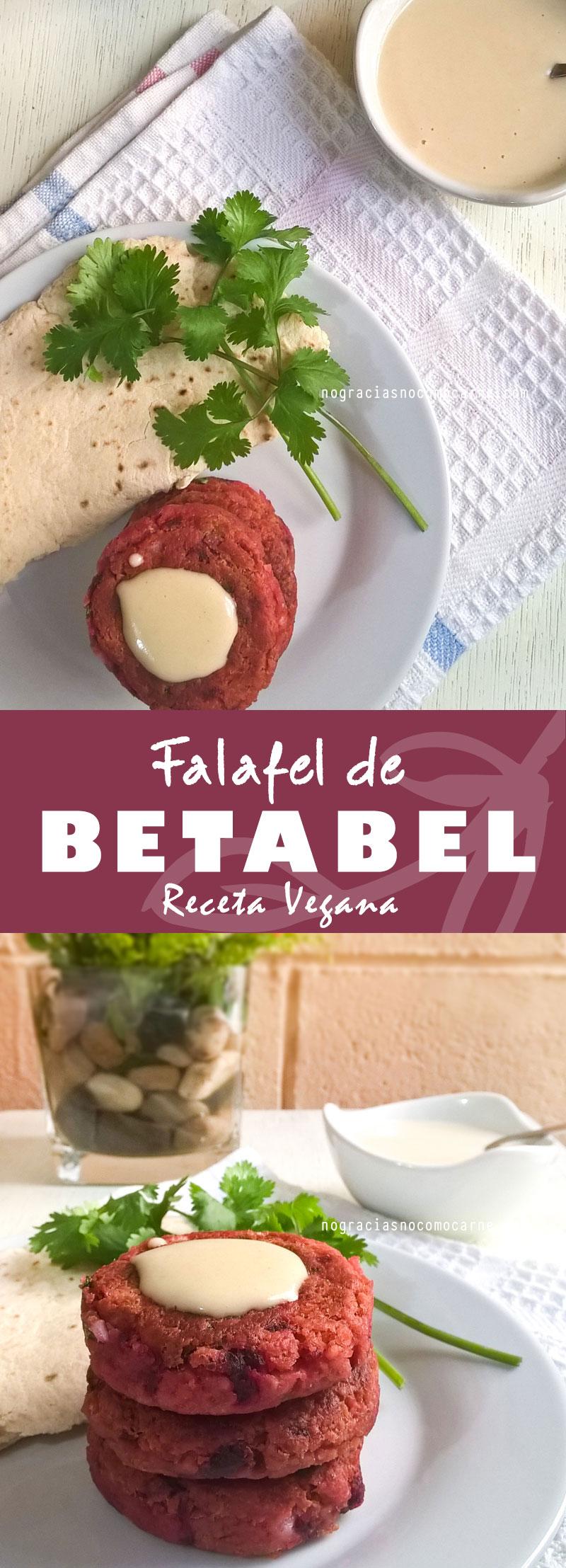 Falafel de betabel | No gracias, no como carne
