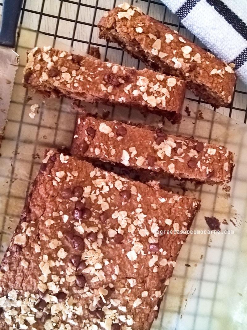 Receta pan harina de avena
